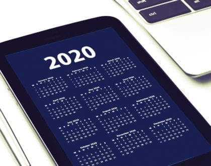 Get organised for 2020!