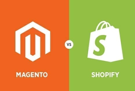 Magento and Shopify